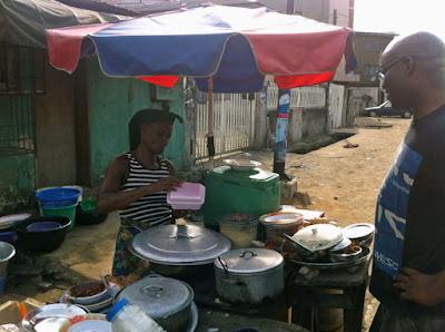 Lagos street food