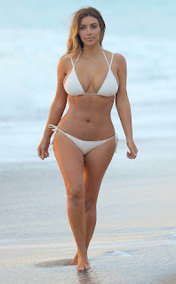 Kim Kardashian hottest bikini bodies