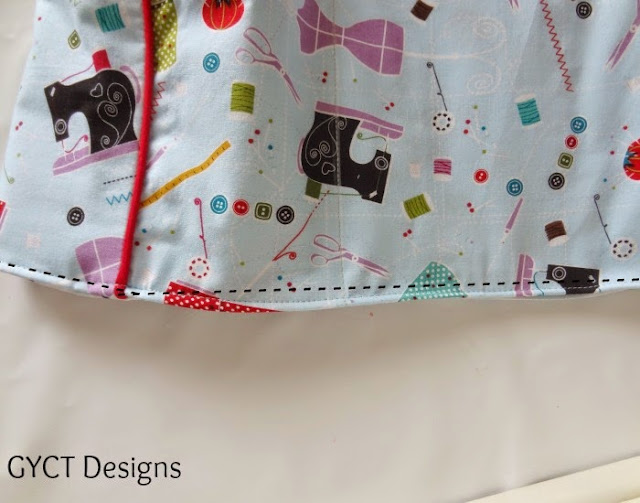 sewing machine cover pattern for bernina