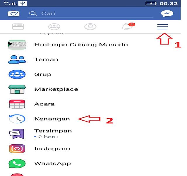 Pengingat Kenangan di Facebook