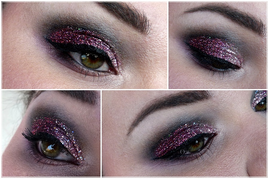 glitter eye make up