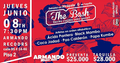 THE BASH - ELECTRO CUMBIA PARA GOZAR EN ARMANDO RECORDS