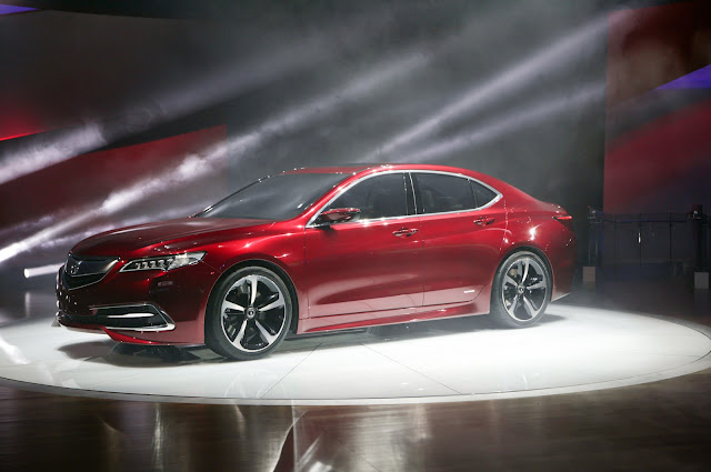 2016 Acura TLX Red Wallpaper