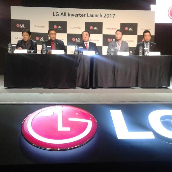 Perangkat Elektronik Rumah Tangga Inventer LG
