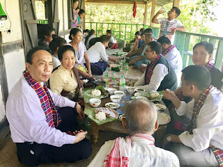 Lao community in Assam, India welcomes the Lao Ambassador
