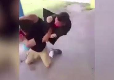 Ο νταής του σχολείου τα έβαλε με λάθος... «παιδάκι»! (Βίντεο)
