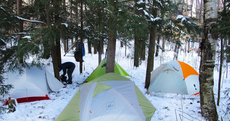 Where to go winter camping in Wisconsin