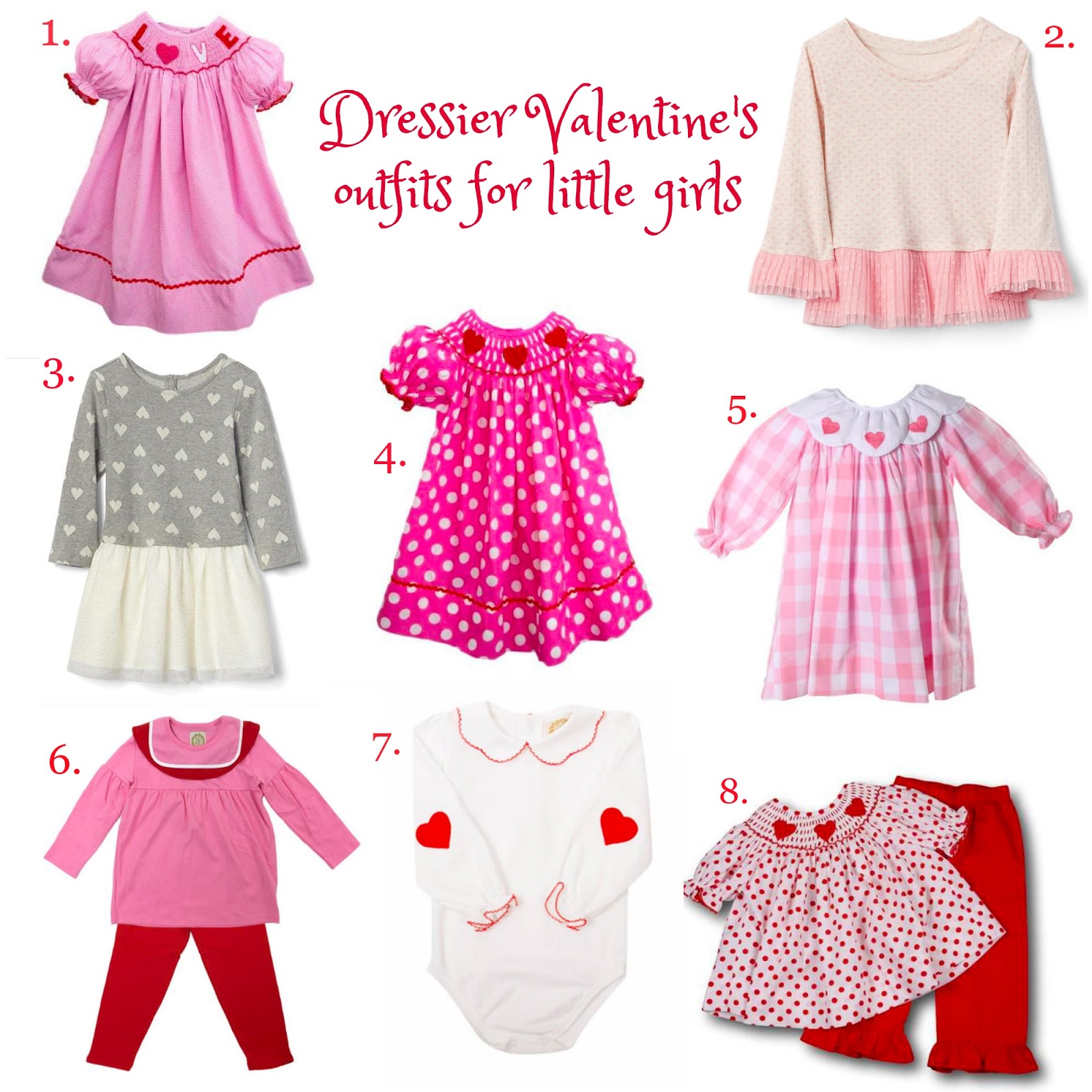... I have been eyeing festive outfits to put her in over the next few  weeks. And most of these outfits would be so cute even after Valentine s  Day! bcbc11976