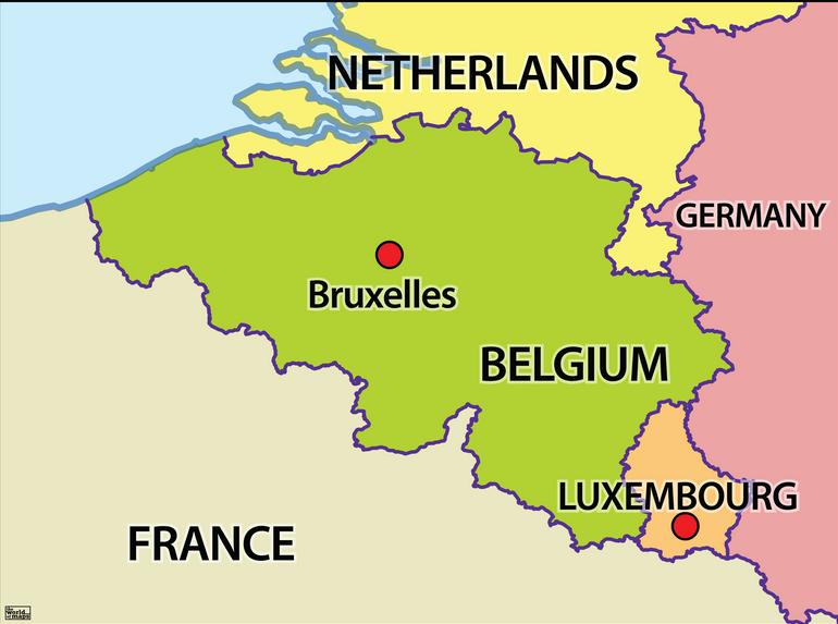 karta belgien Kartan över belgien och städerna | Karta över Sverige, Geografisk  karta belgien