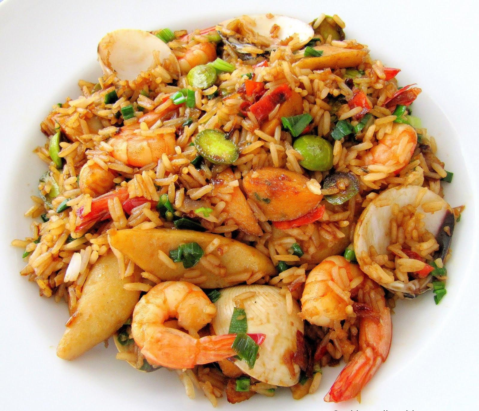Resep Praktis Nasi Goreng Seafood