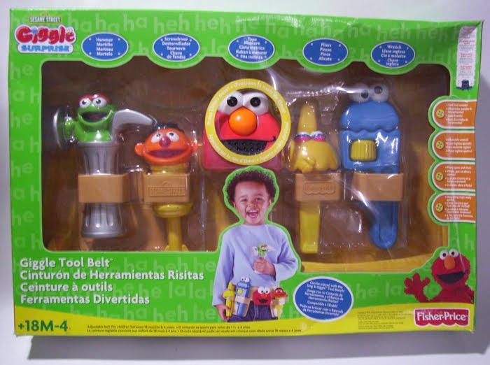 Www Bebekidsworld Com Elmo Giggle Tool Belt Sesame Street