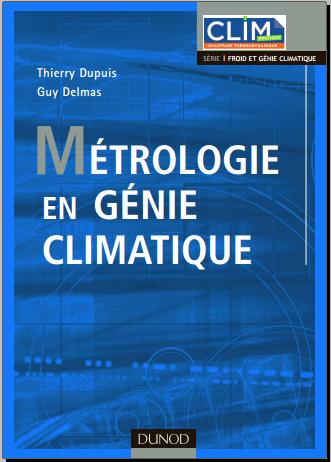 Livre : Métrologie en génie climatique -  Dunod