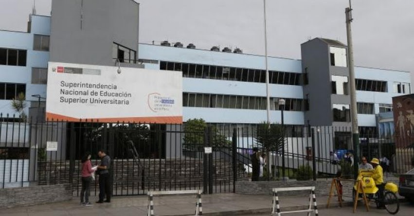 SUNEDU: Lista de universidades que ofrecen carreras sin autorización de la Superintendencia Nacional de Educación Superior Universitaria - www.sunedu.gob.pe