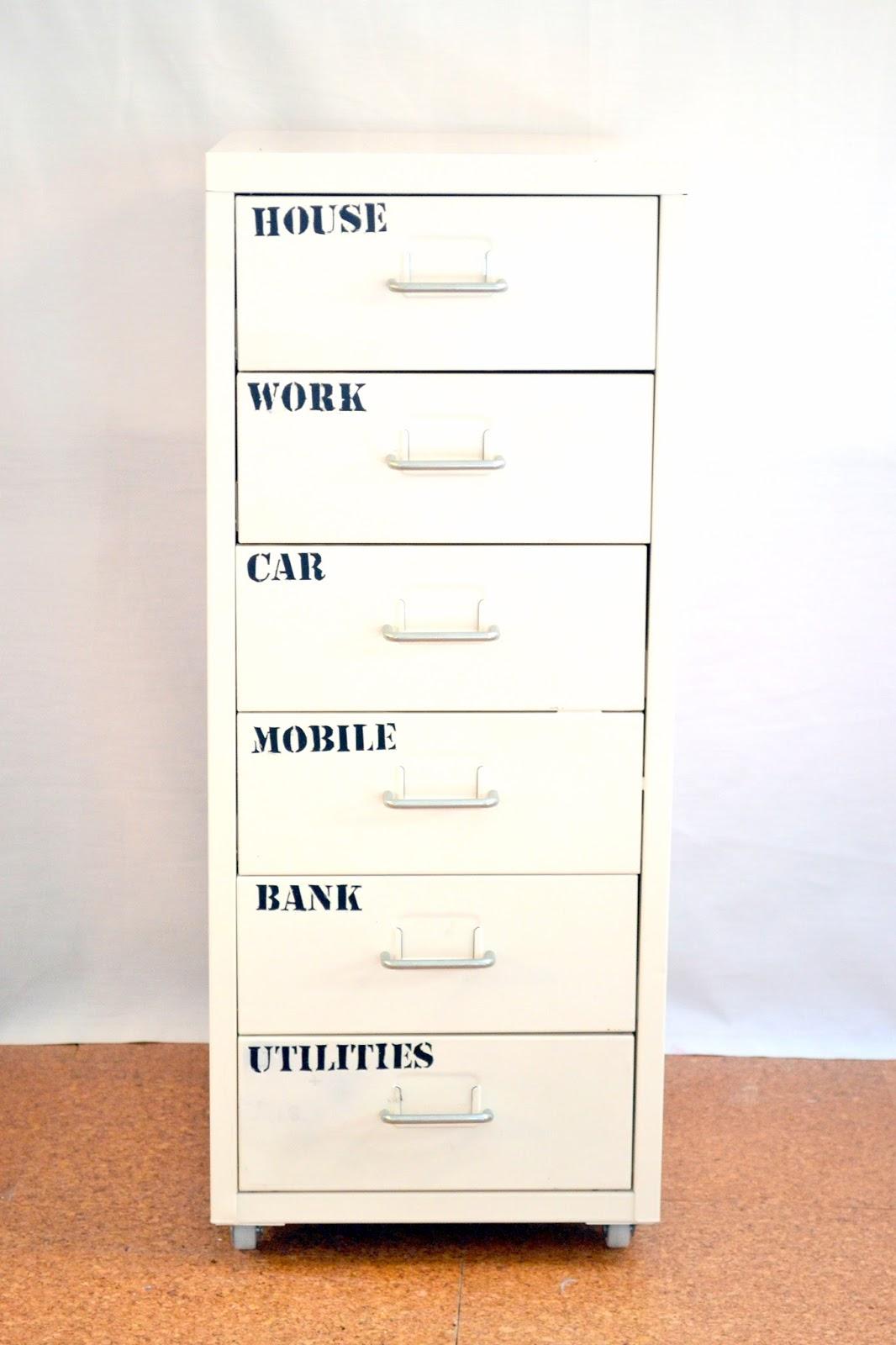 nostalgiecat: DIY filing cabinet label stencils...Free ...