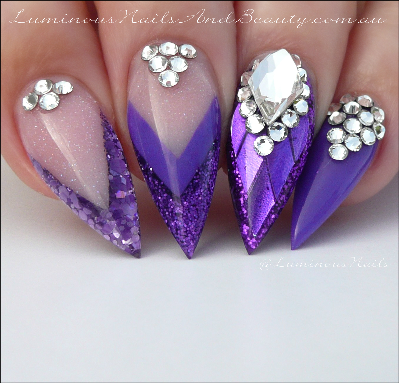 Luminous Nails: June 2016