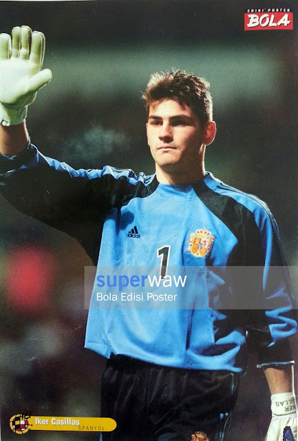 Poster Iker Casillas (Spanyol)