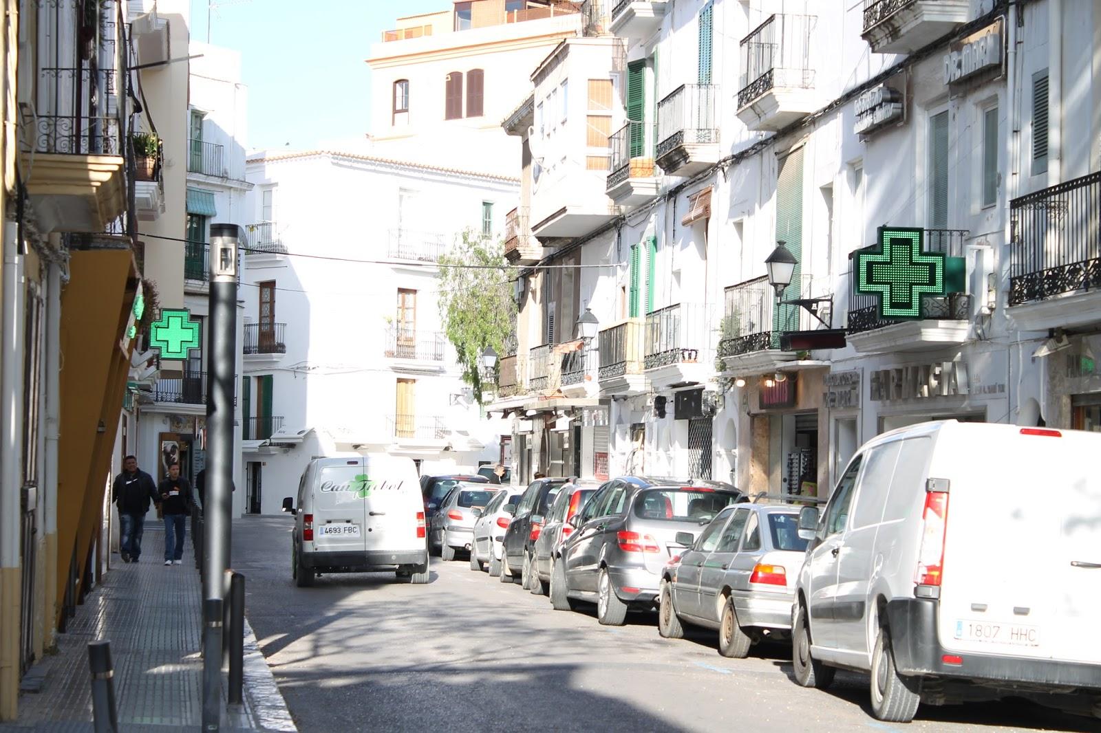 Calle de las farmacias, Ibiza