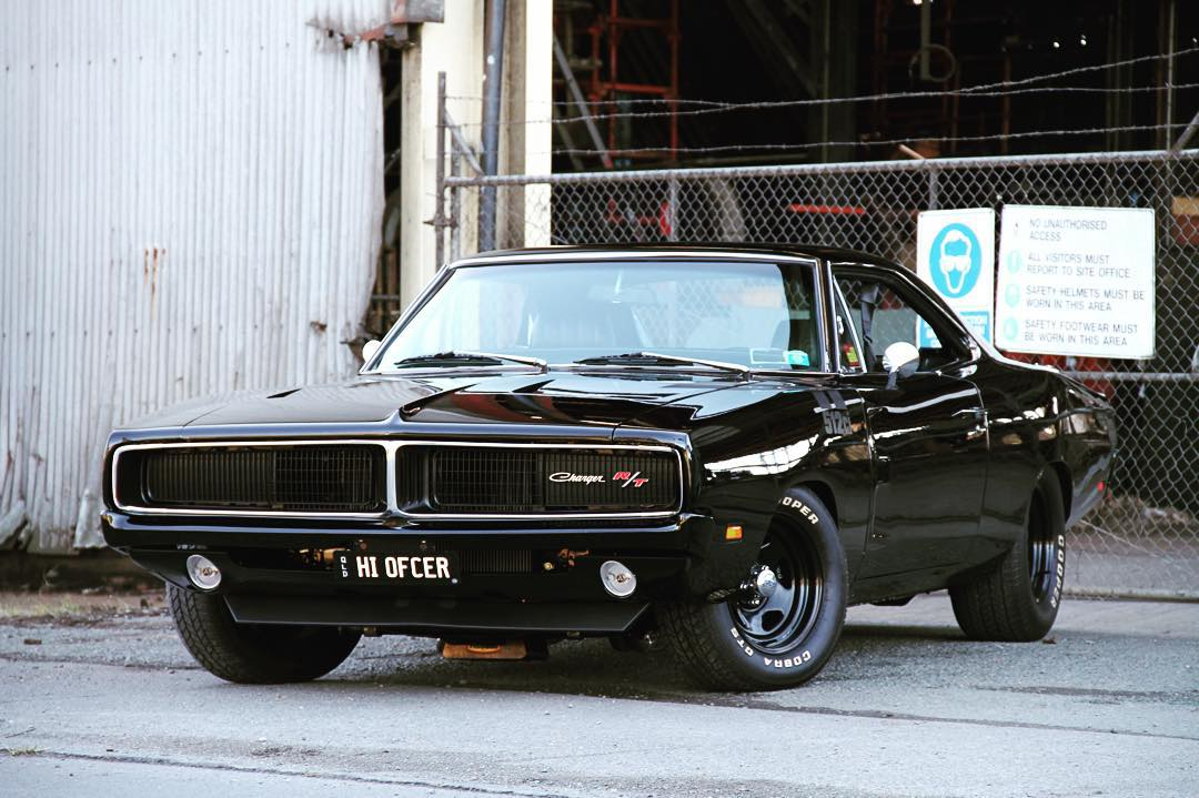 "69 RT Charger ""Hello officer!"""