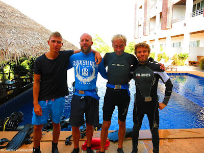PADI IDC on Koh Lanta for March 2017 has started