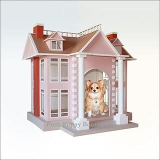 GILDED MANOR STYLE DOG HOUSE