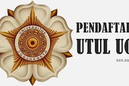 Cara Pendaftaran UTUL UGM 2018/2019