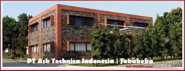 Info Kerja Operator Produksi PT Ask Technica Indonesia Jababeka