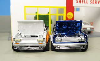 Hot Wheels opening hood Datsun Bluebird 510