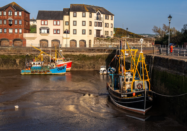 Photo of working fishing boat Silver Fern in Maryport Harbour