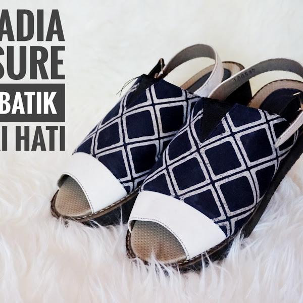 D'Arcadia Treasure,Sepatu Batik Pencuri Hati