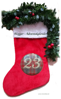 Socke 23 Blogger-Adventskalender