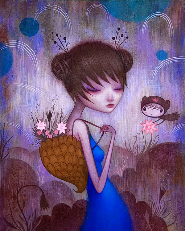 Beautiful Whimsical Illustrations by Jeremiah Ketner