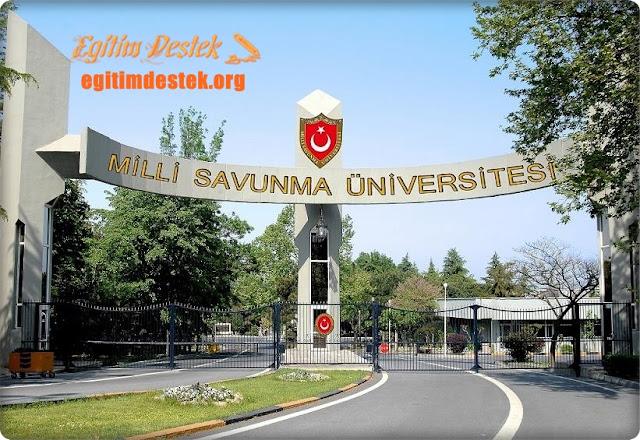 Milli Savunma Üniversitesi Sağlık Koşulları Yönetmenliği