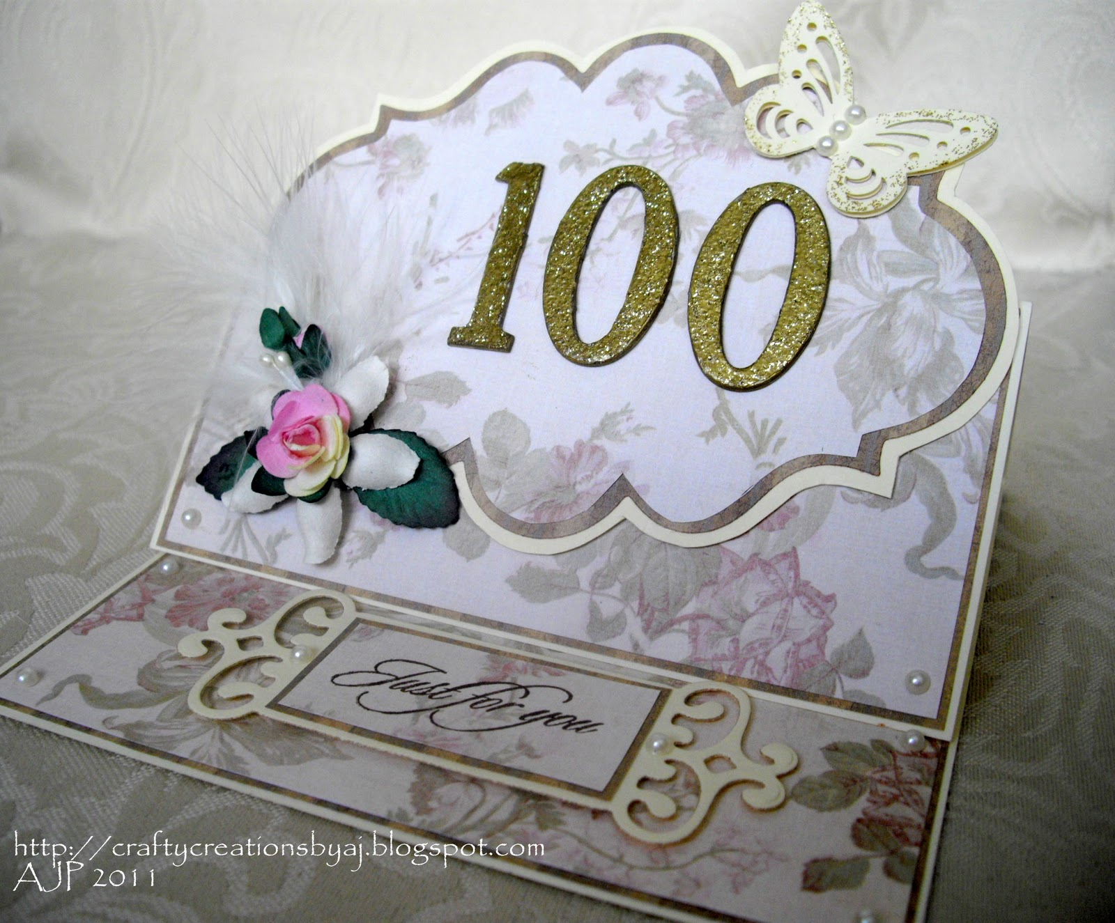 Crafty Creations By AJ 100 Years Old