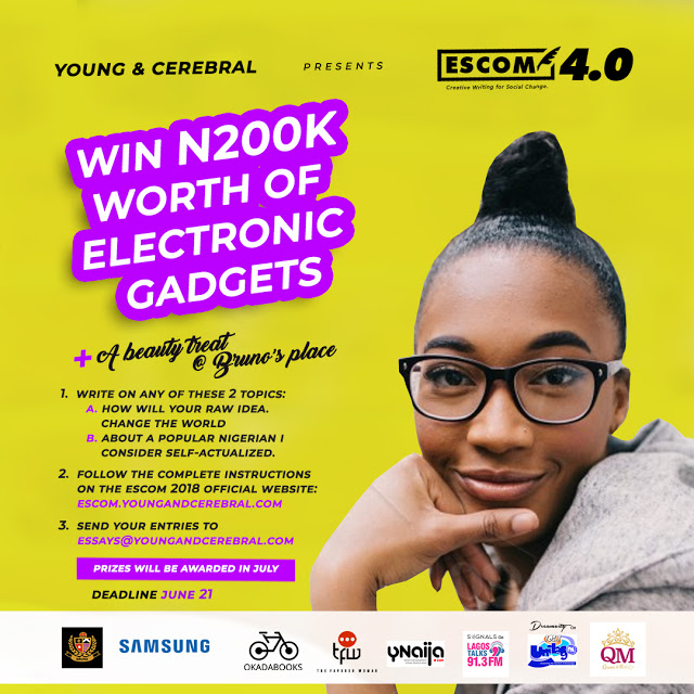 Young & Cerebral #ICANBEMORE Essay Competition 2018 !!! Win N200K worth of gadgets