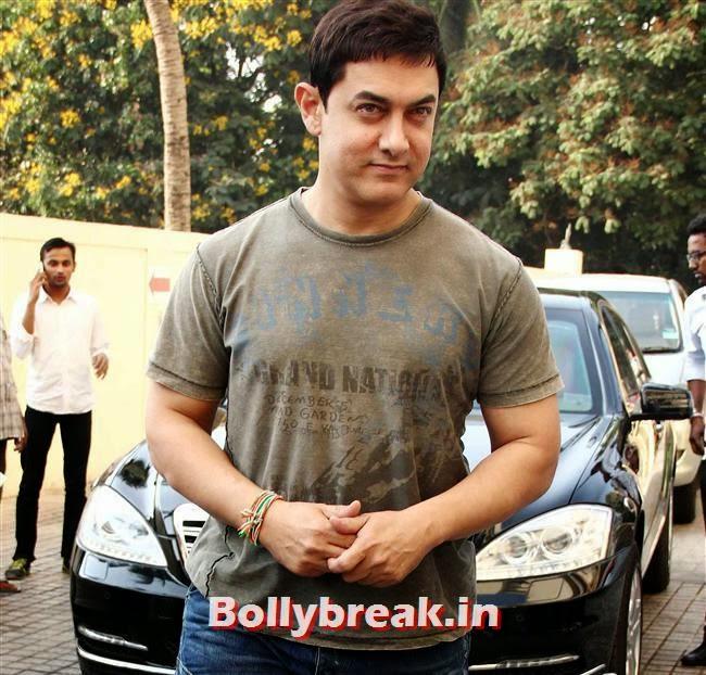 Aamir Khan, Kriti Sanon at Heropanti Movie Trailer Launch