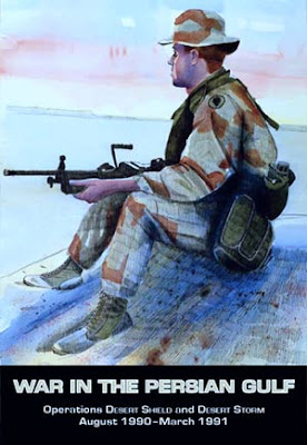 book cover of war in the Persian Gulf 1990-1991