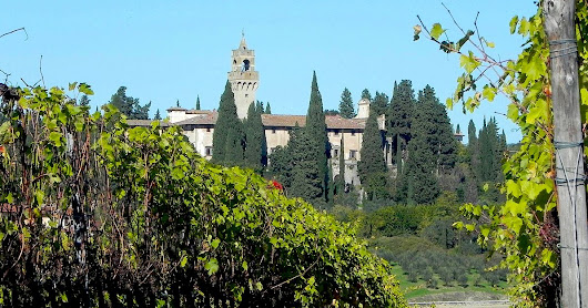 Castello di Montegufoni and the Sitwell family