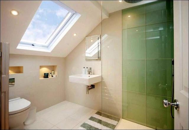 Dusche In Dachschräge