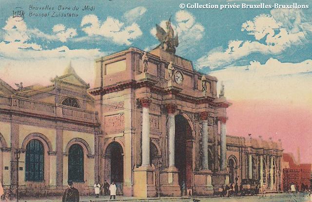 Ancienne Gare du Midi - Bruxelles disparu - Bruxelles-Bruxellons