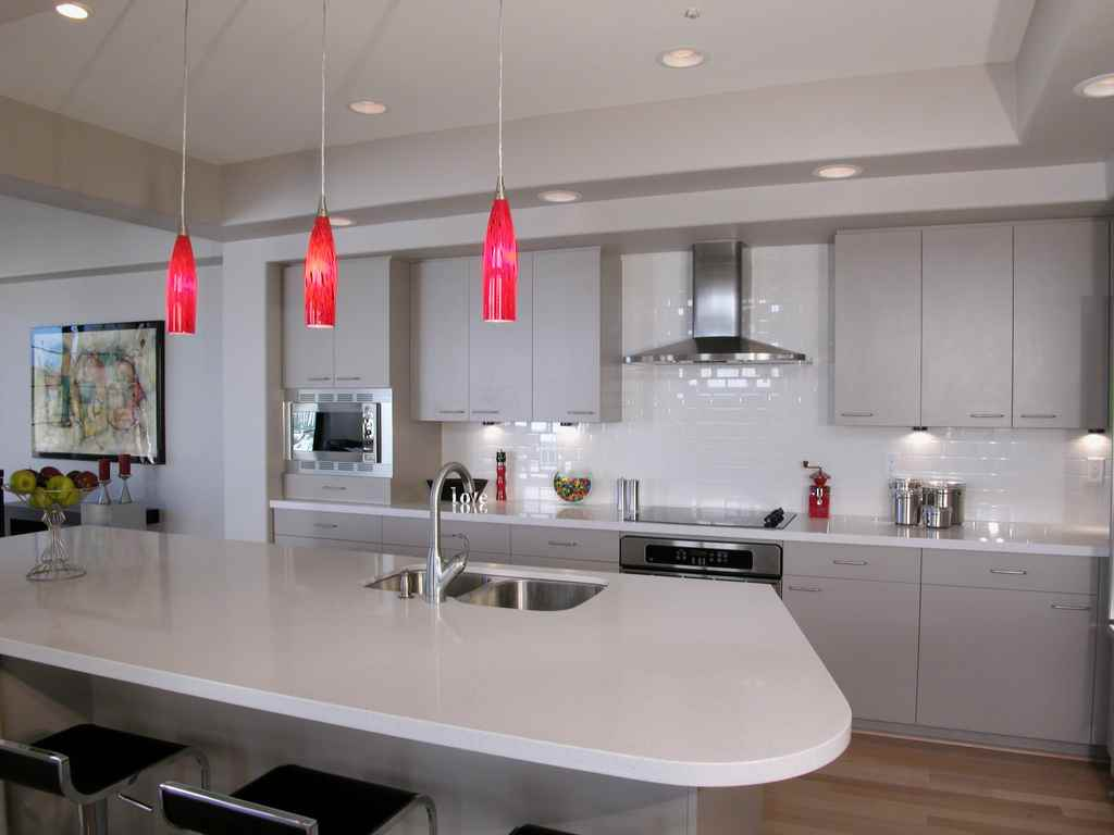 Kitchens With Mini Pendant Light