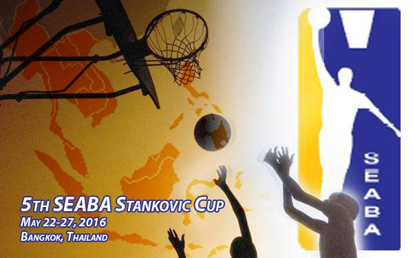 2016 5th SEABA Stankovic Cup in Thailand