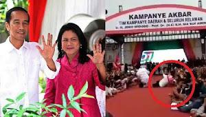 Iriana Jokowi Jatuh, Terbitlah Tagar #IstriAjaDicuekinApalagiRakyat