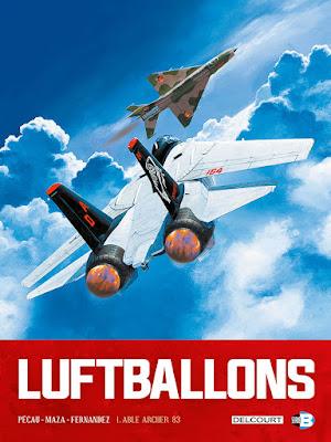 couverture de LuftBallons T1 de Maza, Pecau et Fernandez chez Delcourt