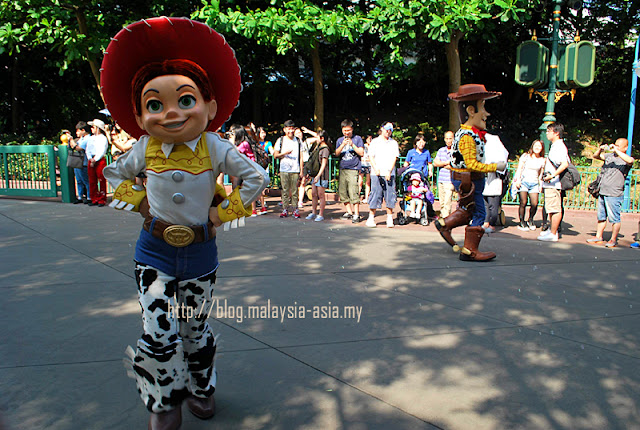 Woody Hong Kong Disneyland Parade