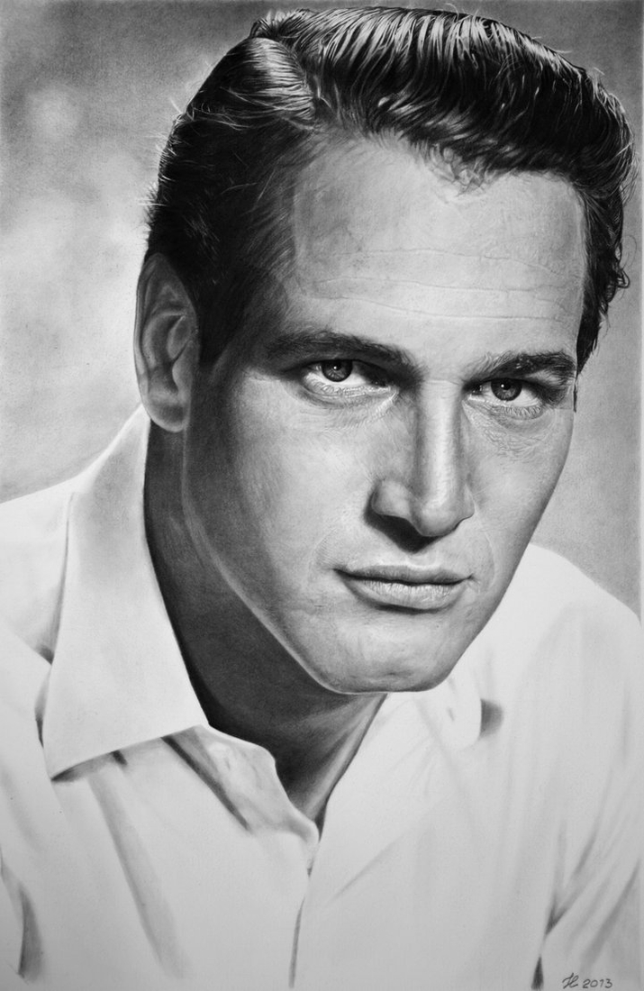 12-Paul-Newman-Franco-Clun-Drawings-that-save-the-Expression-and-Personality-of-the-Model-www-designstack-co