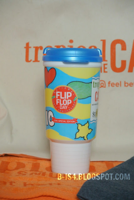 Tropical Smoothie Cafe Travel Mug, Camp Sunshine