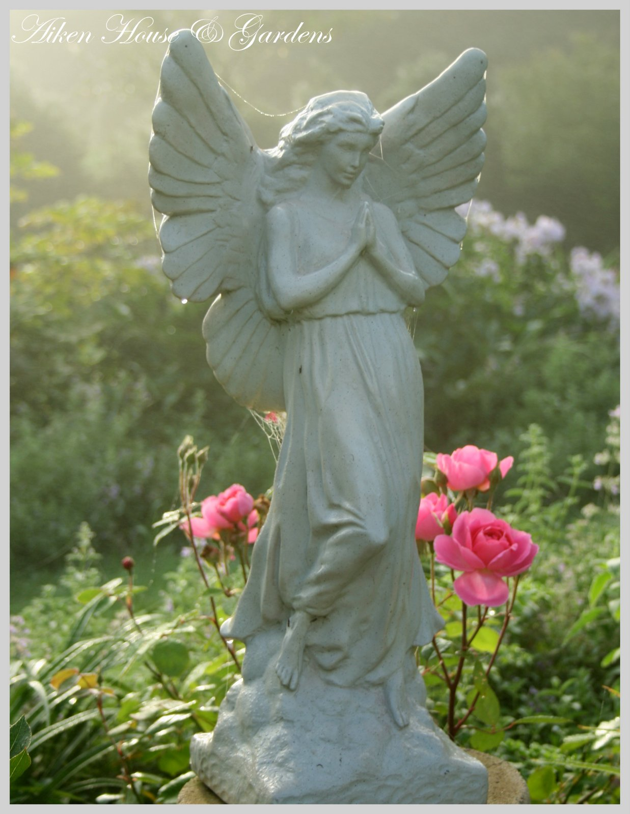 Garden Angel Aiken House And Gardens Garden Statuary