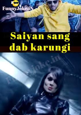 Saiyan sang dab karungi lyrics Music Video Raftaar Sonu Kakkar