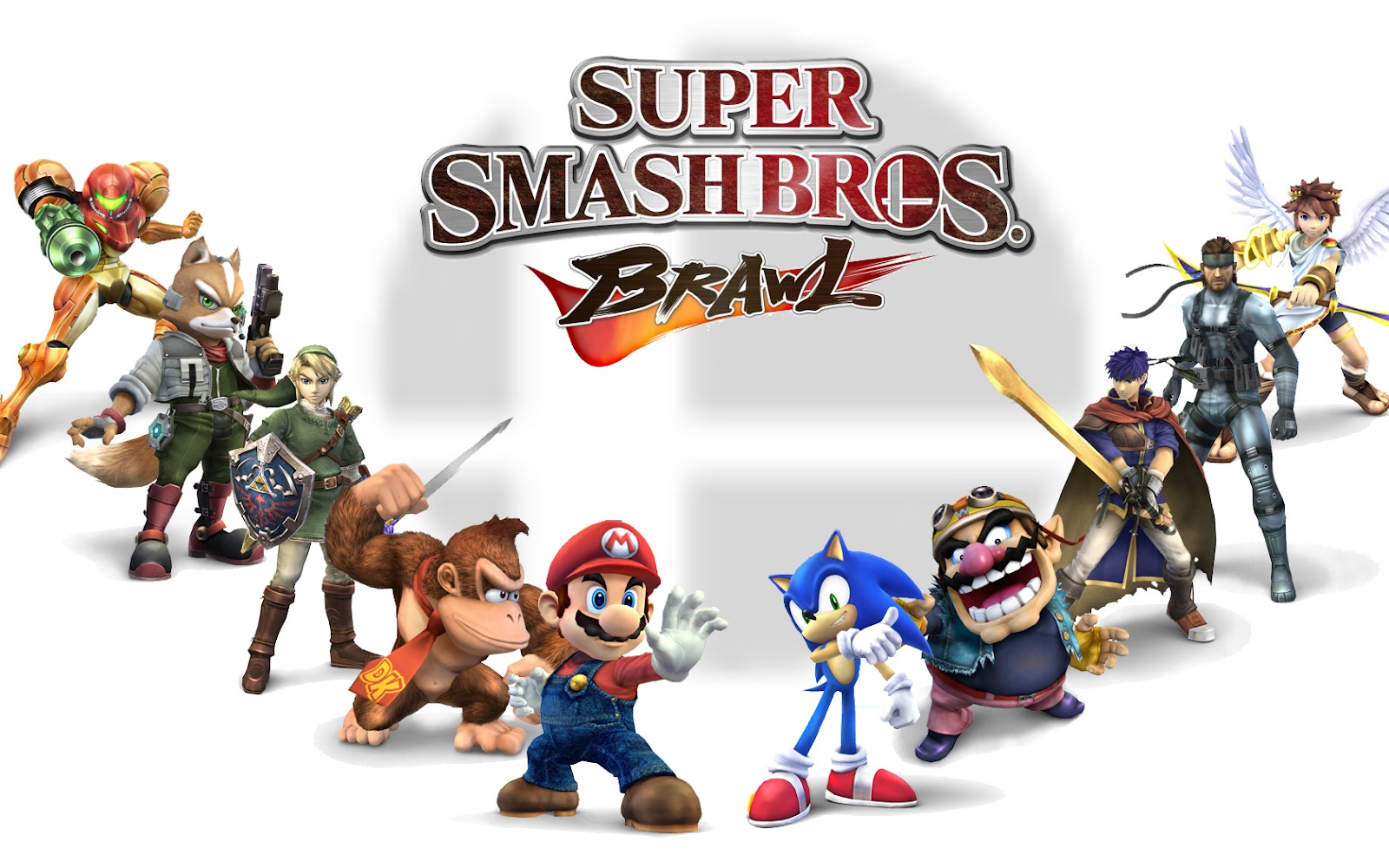 Video Game Gallery Super Smash Bros Brawl Wallpaper
