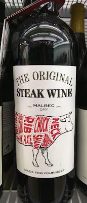 μπριζολόκρασο, steak wine, paraxeno pirouni, παράξενο πιρούνι
